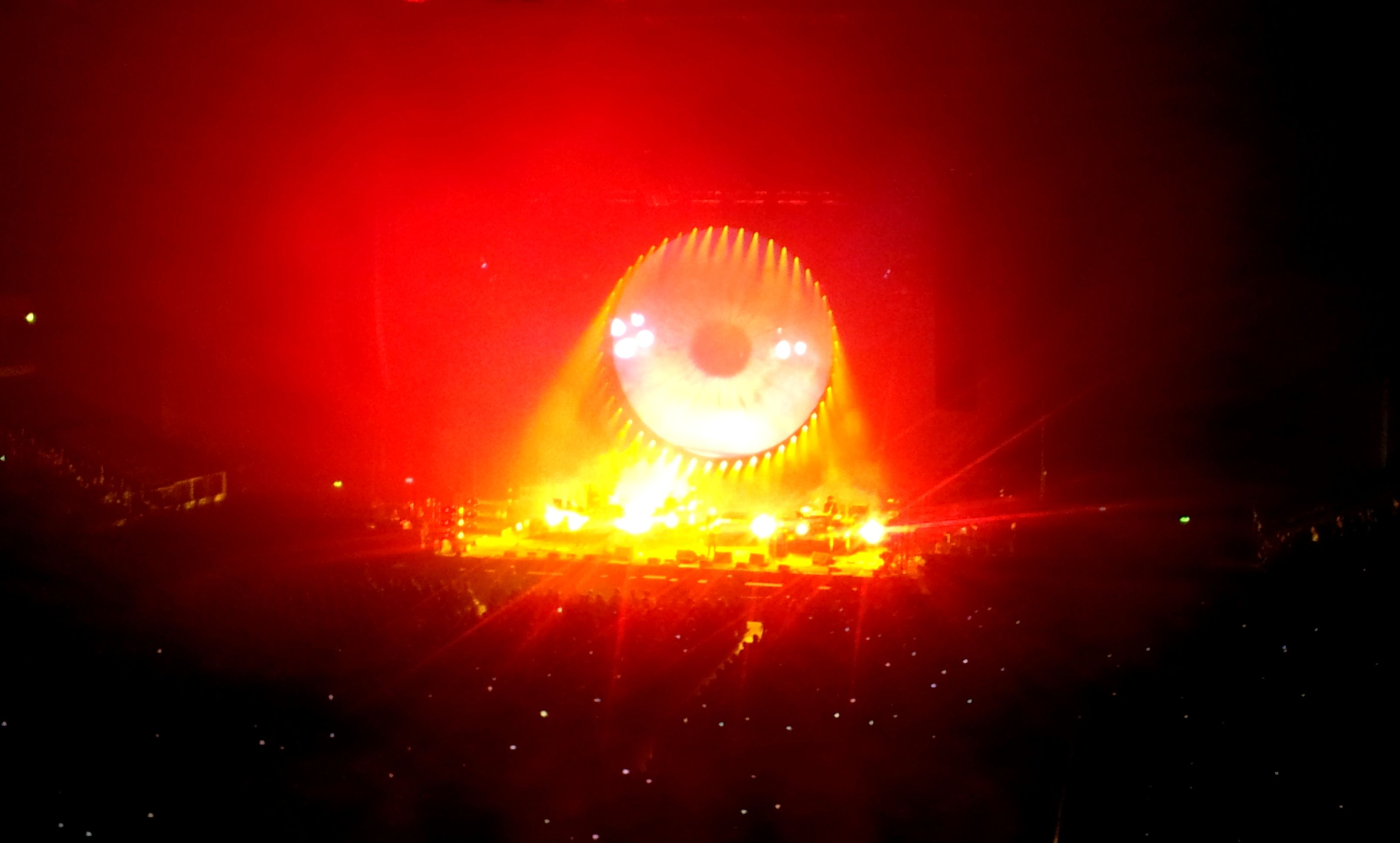 19 sept 2015 David Gilmour @ Oberhausen