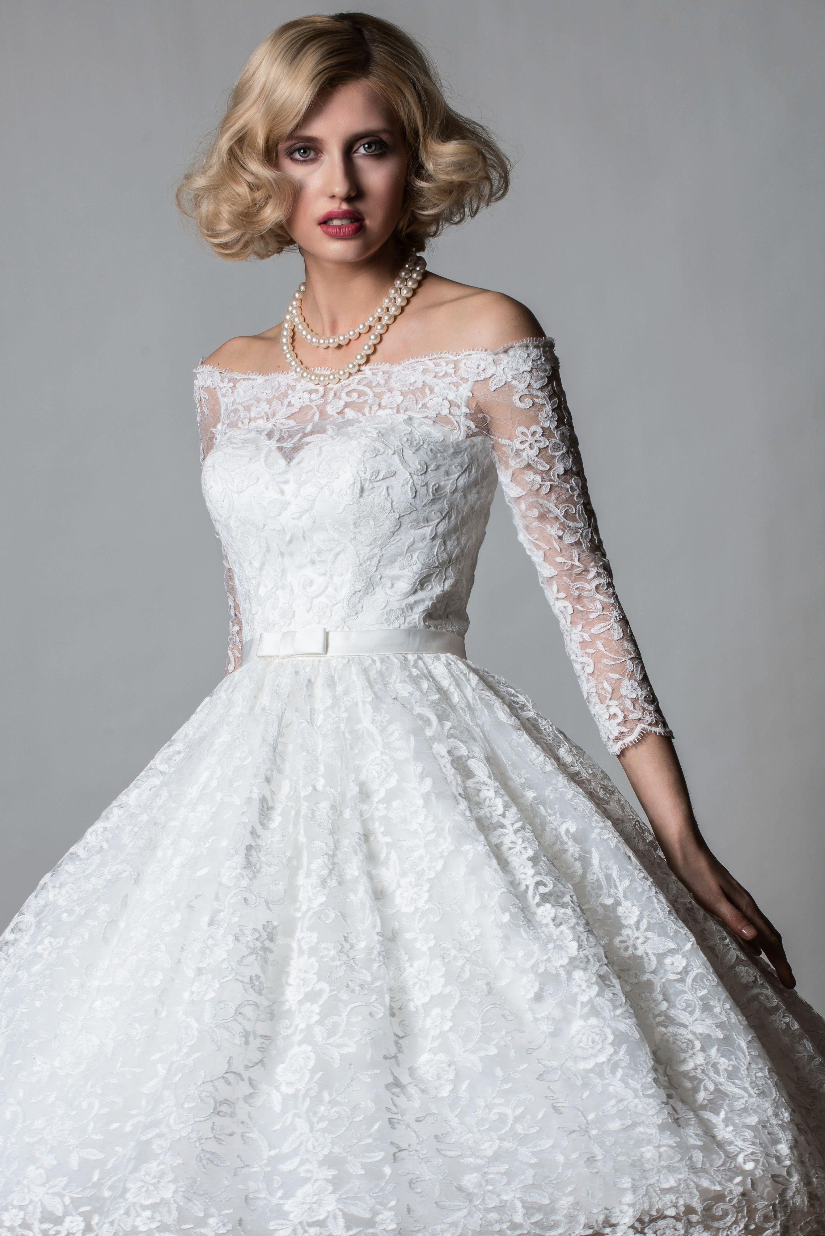 Rita Mae 1064 (With images) Short wedding dress, Tea