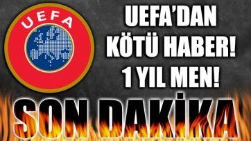 UEFA'dan Eskişehir ve Sivasspor'a şok ceza