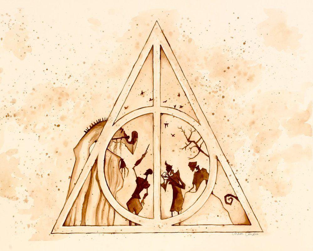 Картинка даров смерти из гарри поттера