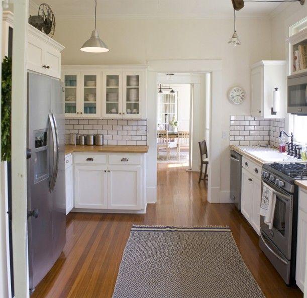 Bungalows · Craftsman Cottage Kitchen Remodel ...
