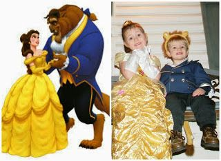 Diy Toddler Beast Cogsworth And Lumiere Costumes From Beauty The