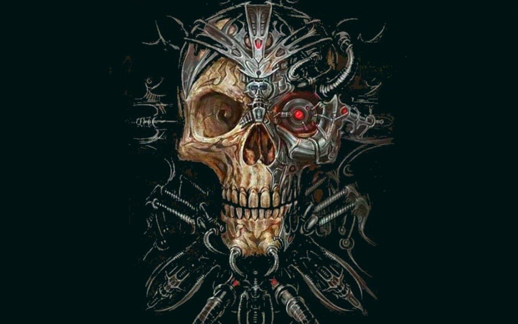 Skull Wallpaper Free For Desktop