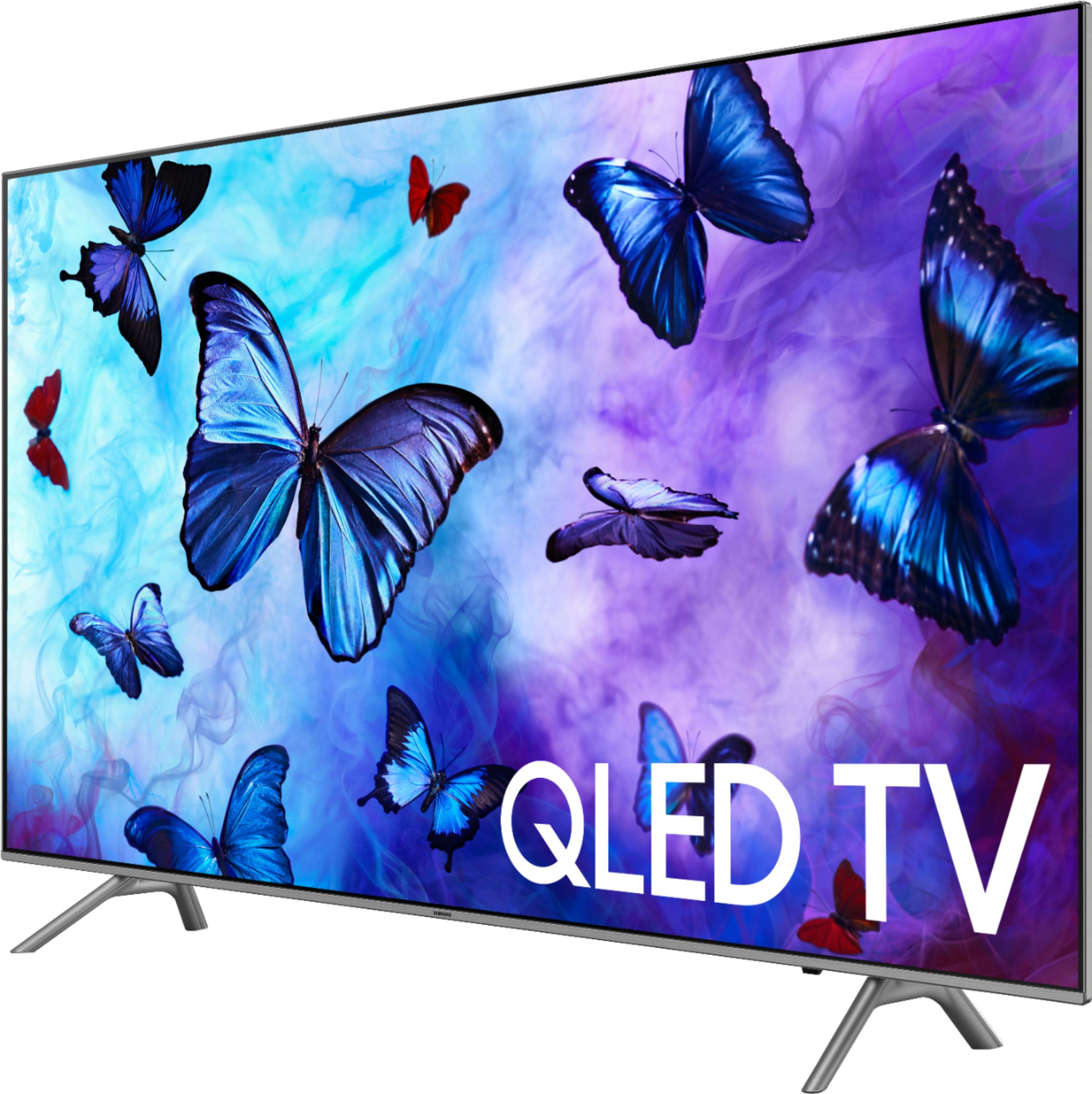 "Samsung QN82Q6FN Flat 82/"" QLED 4K UHD 6 Series Smart TV 2018"