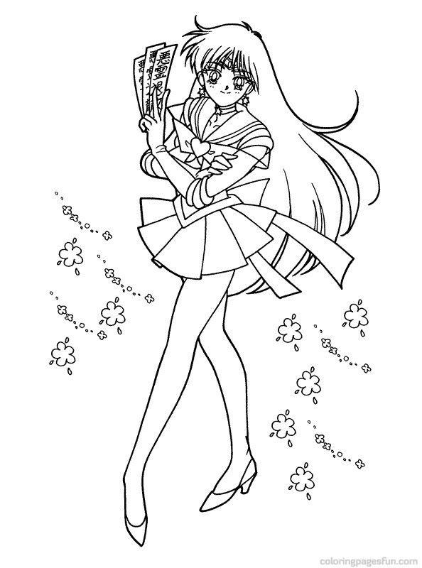 sailor sailor moon colouring pages 2sailor moon coloring pages - Sailor Moon Coloring Pages 2