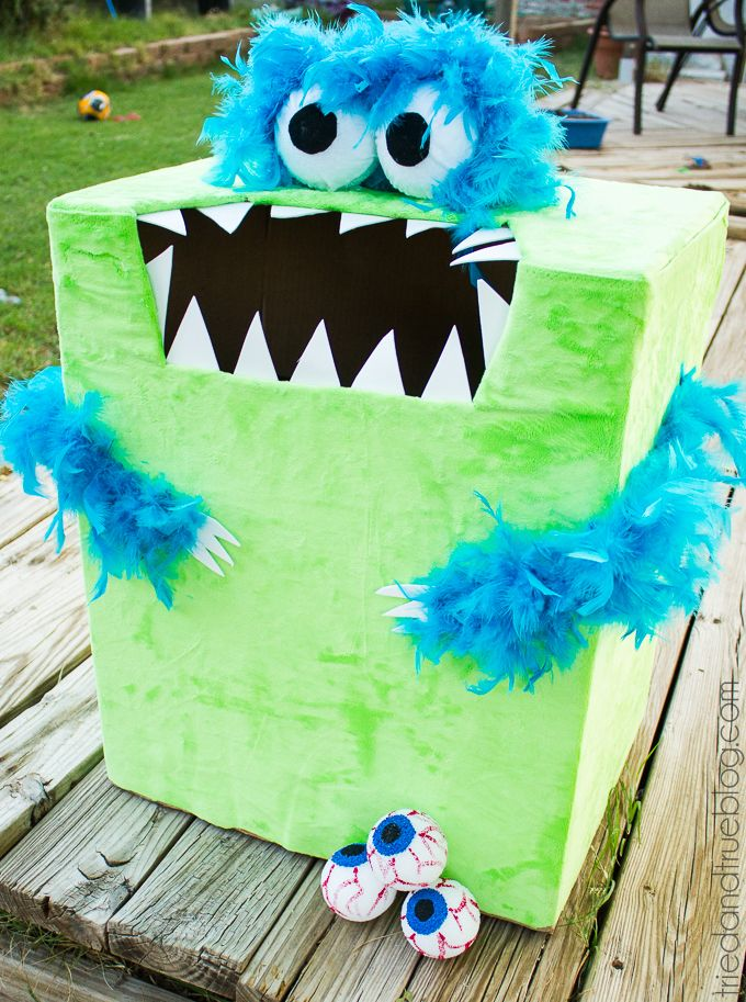 """""""Feed The Monster"""" Halloween Game Halloween games for"""