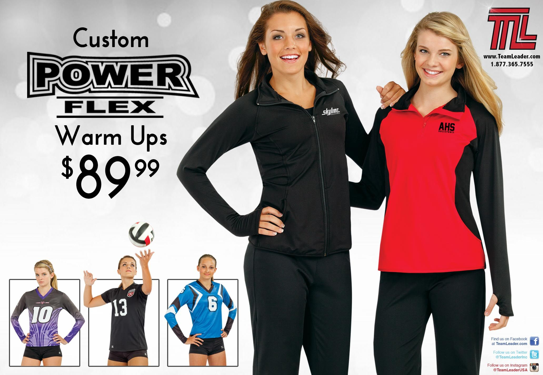 Powerflex Warmups And Custom Jerseys Volleyball Uniforms Swimwear Wetsuit