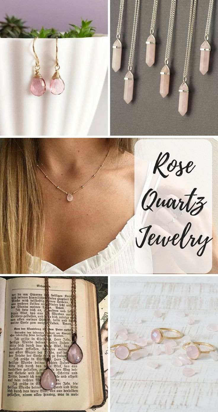 Rose Quartz aka the Love This stone opens up your