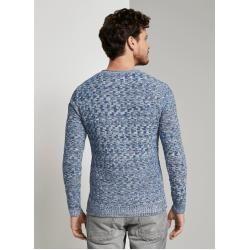 Tom Tailor suéter estampado para hombre, azul, talla xxl Tom TailorTom Tailor