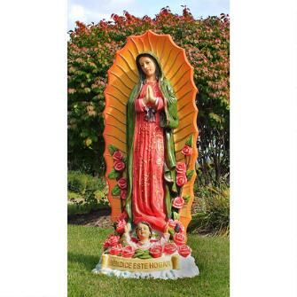 The Virgin of Guadalupe Religious Statue: Grande $399.00 | statues ...