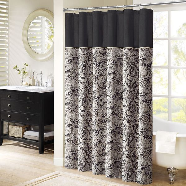 Bon Madison Park Aubrey Shower Curtain   Overstock™ Shopping   Great Deals On  Madison Park Shower