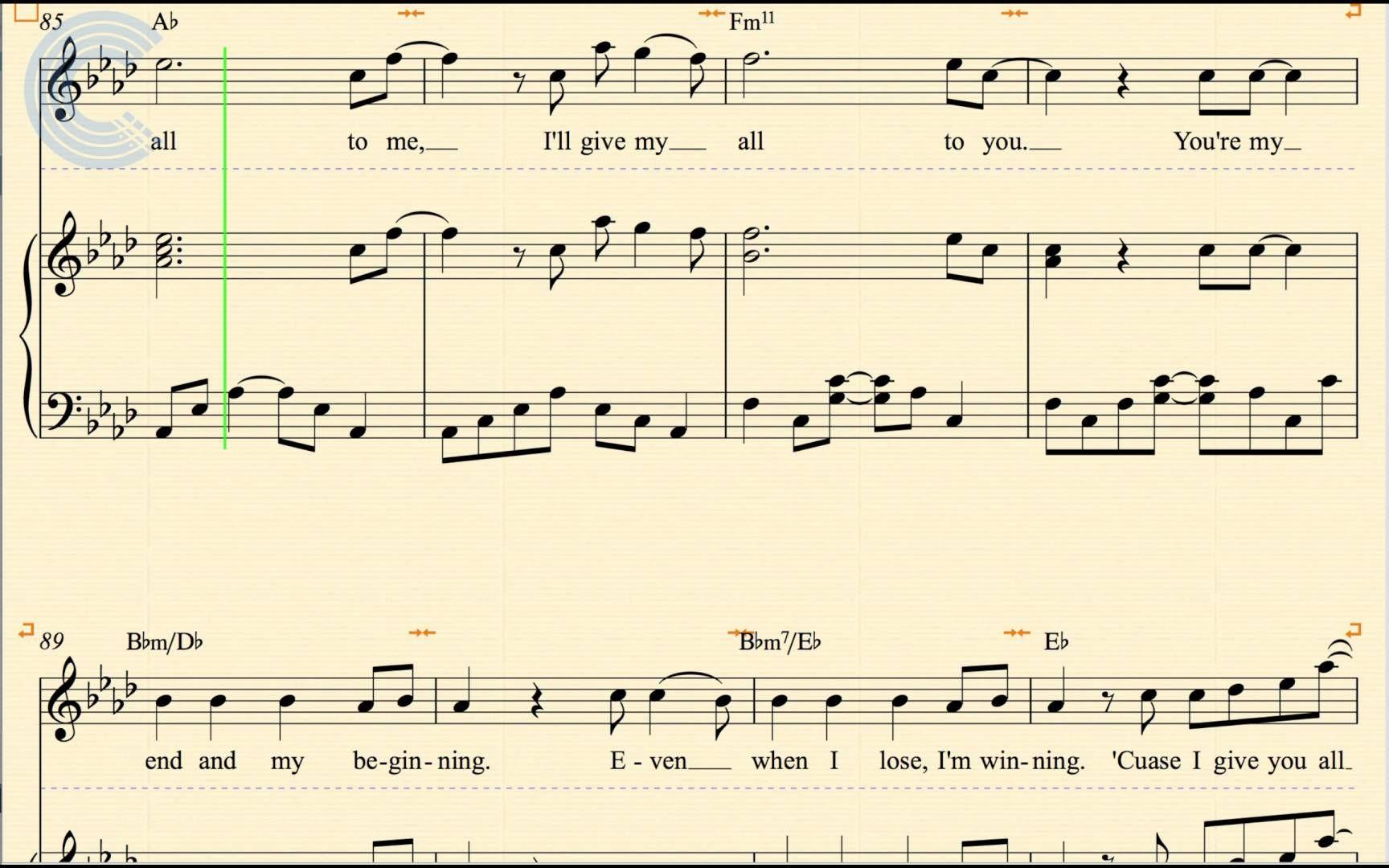 All Of Me Piano Sheet Music piano - all of me - john legend - sheet music, chords