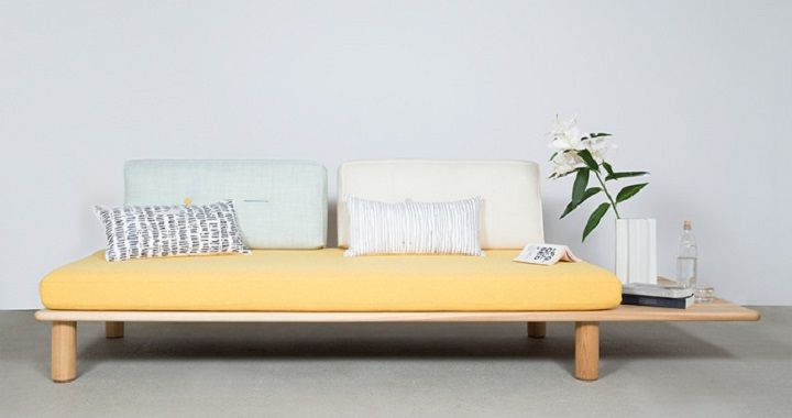 Scandinavian Style, International Elegance: Plank Sofa By Dk3 |  Scandinavian Style, Plank And Daybed