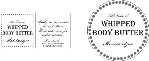 Honey Scented Homemade Whipped Body Butter Whipped Body Butter Body Butter Labels Body Butter