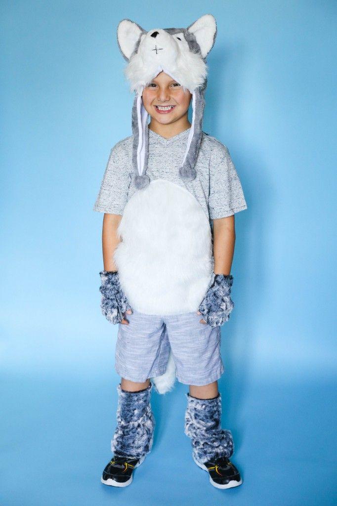 Siberian Husky Costume With Images Husky Costume Dog Costumes