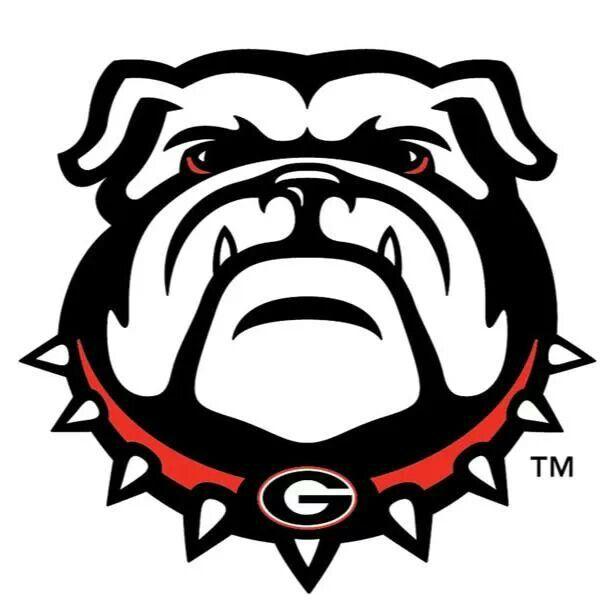 get your game face on georgia fans go dawgs go dawgs rh pinterest com