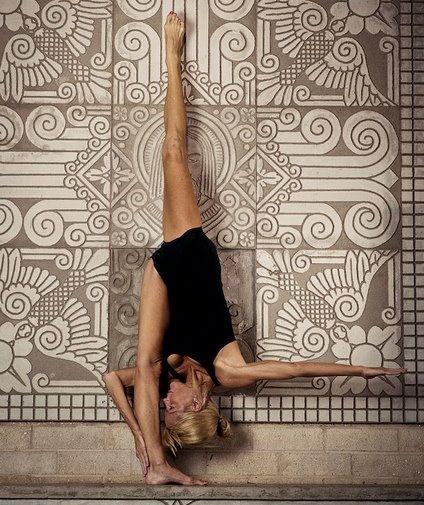 standing splits!