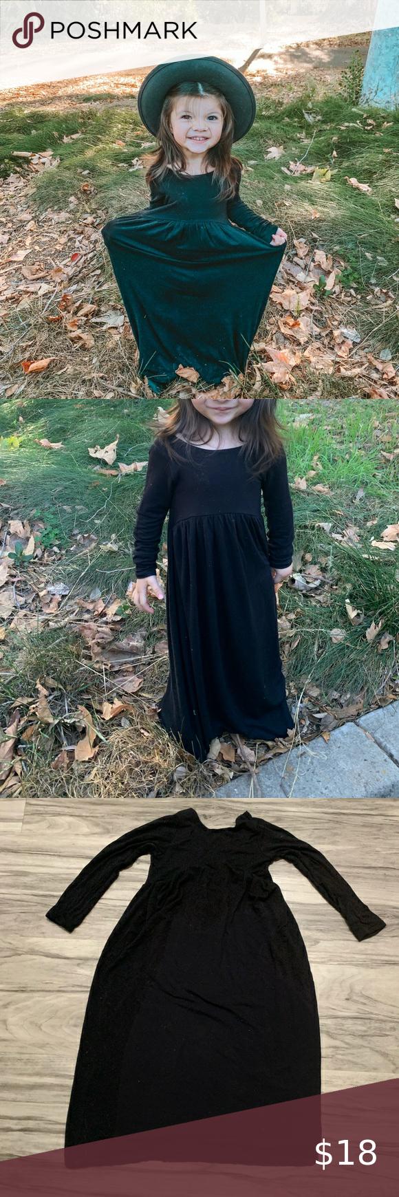 Toddler Black Maxi Dress Black Maxi Dress Maxi Dress Black Maxi [ 1740 x 580 Pixel ]