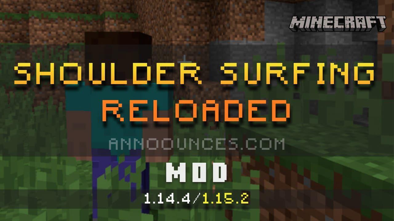 Shoulder Surfing Mod Mod Minecraft Mods Surfing