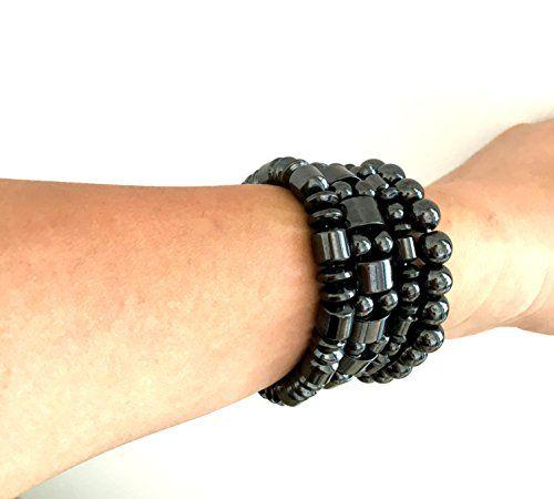 Set of 4 Hematite Powerful Magnetic Bracelet for Arthriti... https://www.amazon.com/dp/B01FH8OH58/ref=cm_sw_r_pi_dp_x_RPEPybXEF7AYA