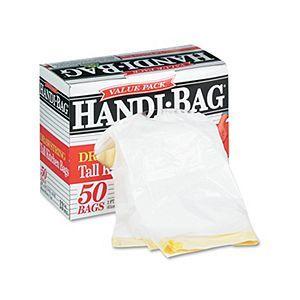 Handi Bag 13 gal Tall Kitchen Drawstring Trash Bags 50 ct