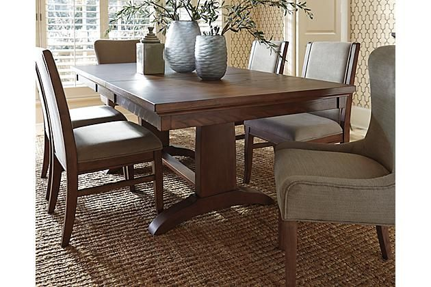Medium Brown Mardinny Dining Room Table Ashley Furniture