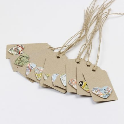 Ten gift tags  Cards & stationery