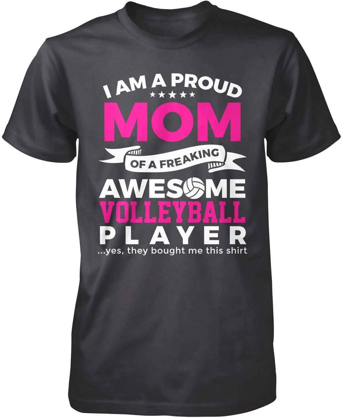 Proud Nickname Of An Awesome Volleyball Player T Shirt Hoodie Dance Mom Shirts Comfy Hoodies Shirts