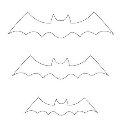 Halloween Ideas \ Activities Bat template, Bats and Template - bat template