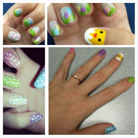 Saturday #nailparty with my girls from work  #easternails