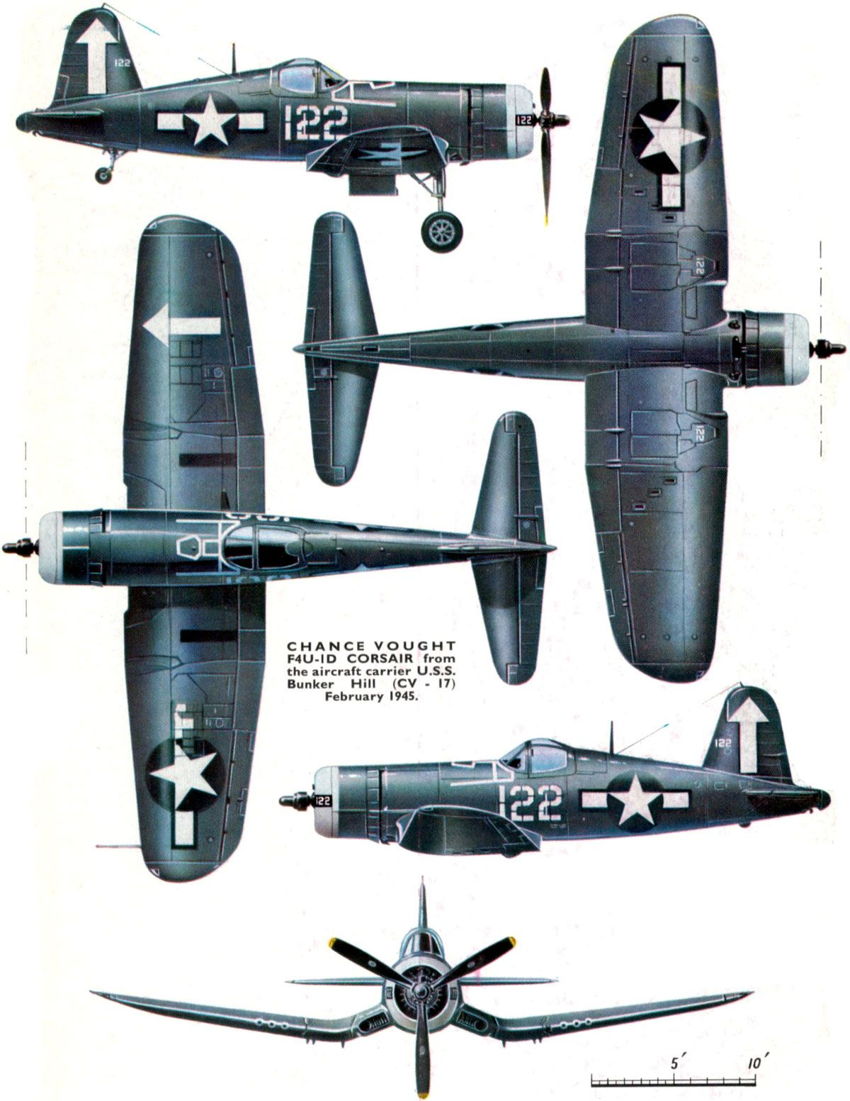 Chance Vought F4U-1D Corsair--I had one of these in a foam representation that you shot off a plastic aircraft carrier it was cool