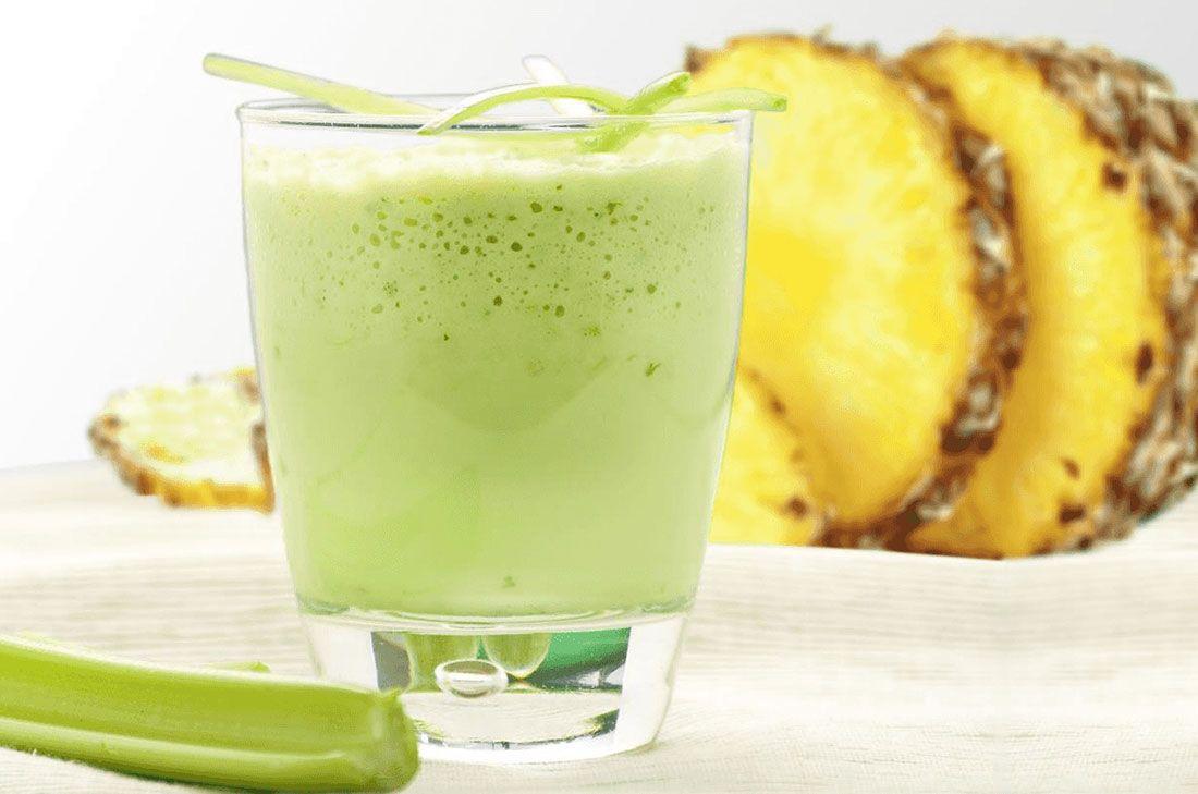 Gracias A Sus Ingredientes El Licuado O Jugo Verde De Nopal Pina