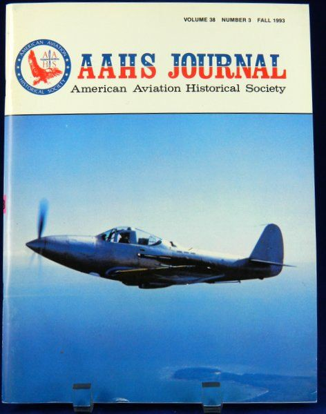 AAHS Journal Fall 1993 American Aviation by QueeniesCollectibles, $5.99