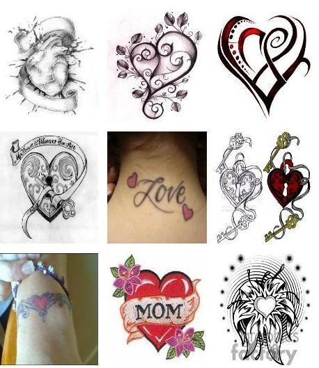 Heart Tattoo Designs Heart Tattoo Unique Tattoos Heart Tattoo Designs
