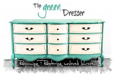 The Green Dresser.