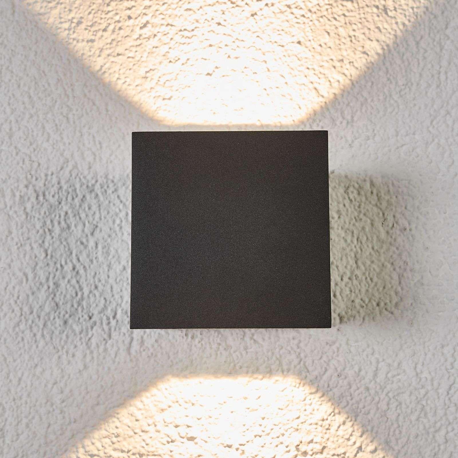 Applique Extérieure Eclairage Haut Et Bas applique murale led merjem éclairage haut et bas de lucande