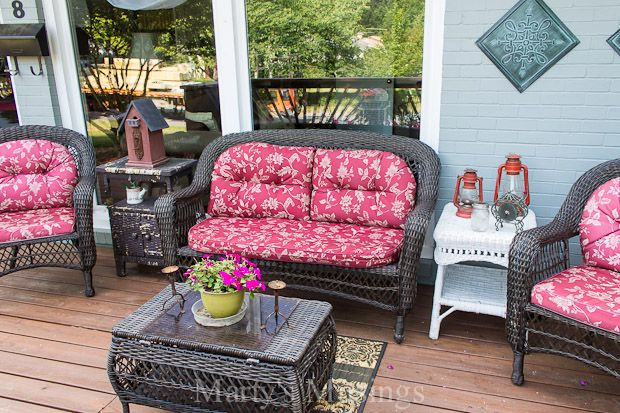 Budget Decorating Ideas For The Deck Outdoor Furniture Inspiration Decorating On A Budget Decor