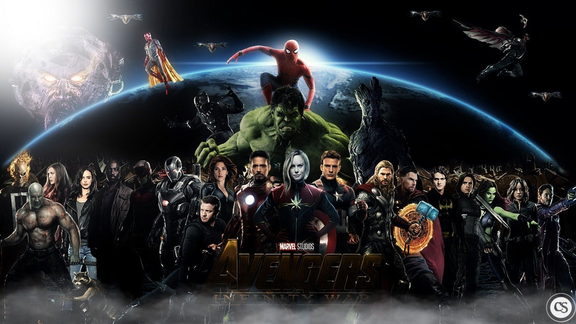 Wallpaper Hd Avengers Infinity War Characters 2021 Live Wallpaper Hd Avengers Wallpaper Avengers Avengers Infinity War