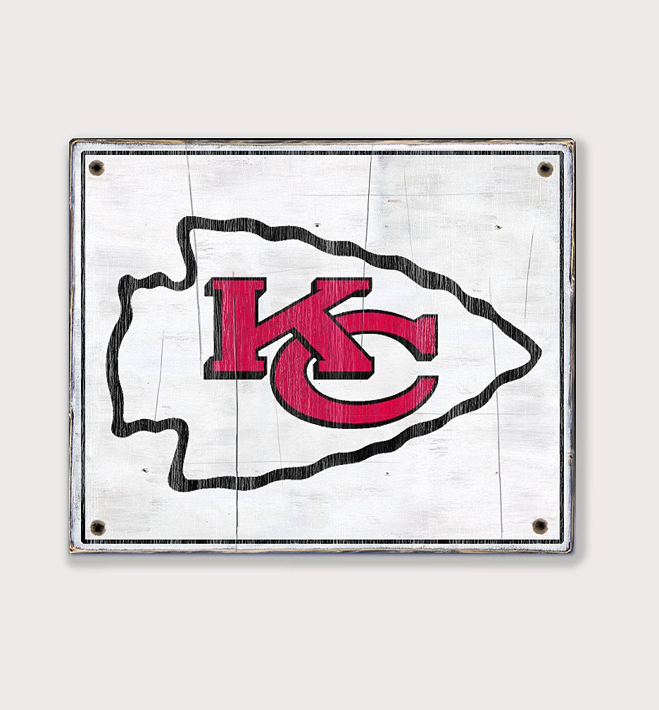 Kansas City Chiefs Distressed Rustic Wood Sign Chiefs Football Fan Gift Man Cave Boys Room Sports Kansas City Chiefs Logo Chiefs Logo Nfl Kansas City Chiefs