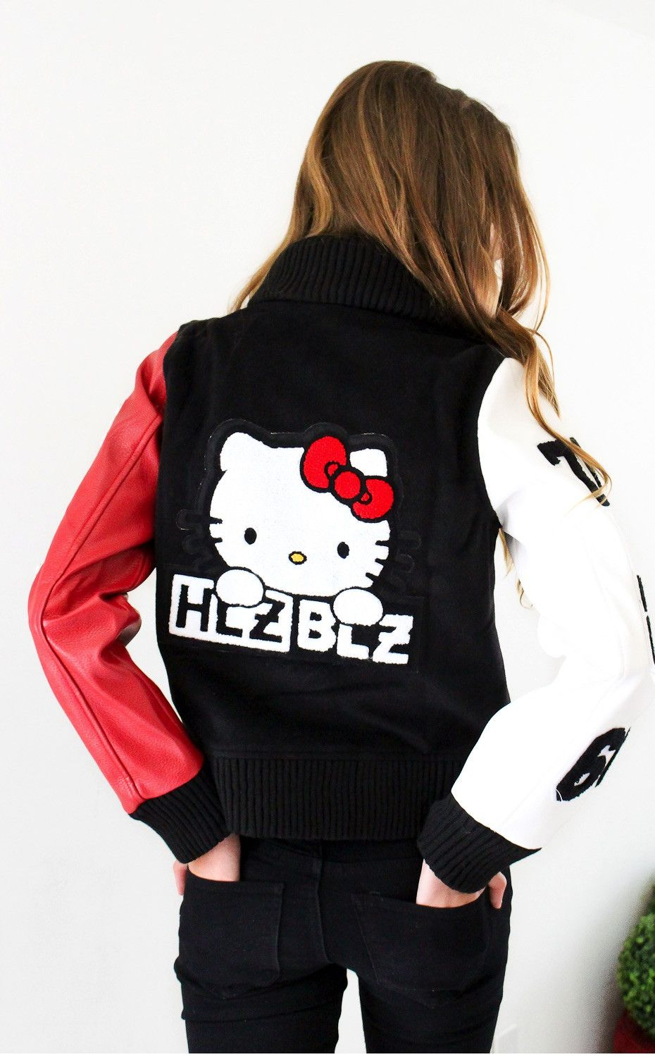 24594a9a0 Hellz Bellz x Hello Kitty Rad Girls Club Jacket from NYCT | Sanrio ...