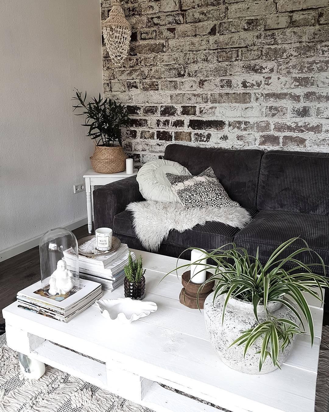 gedeckte farben kombiniert mit nat rlichen akzenten pflanzen helle dekoration kuschelige. Black Bedroom Furniture Sets. Home Design Ideas