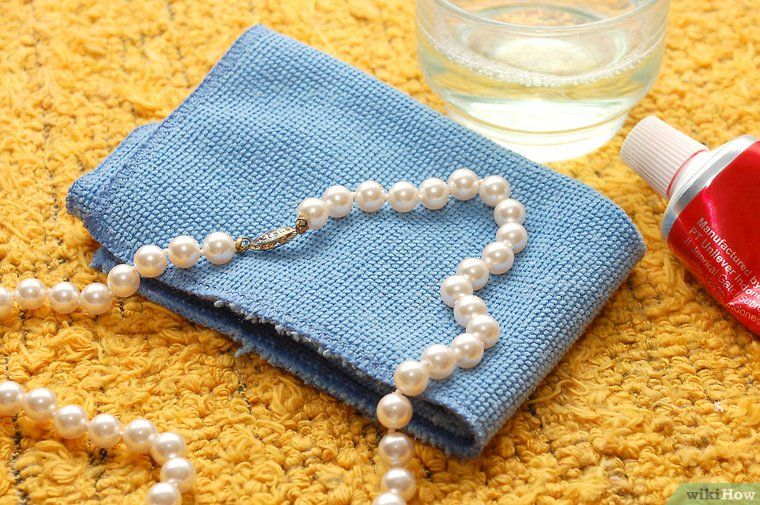 How to Clean a Pearl Necklace How to clean pearls, Rose