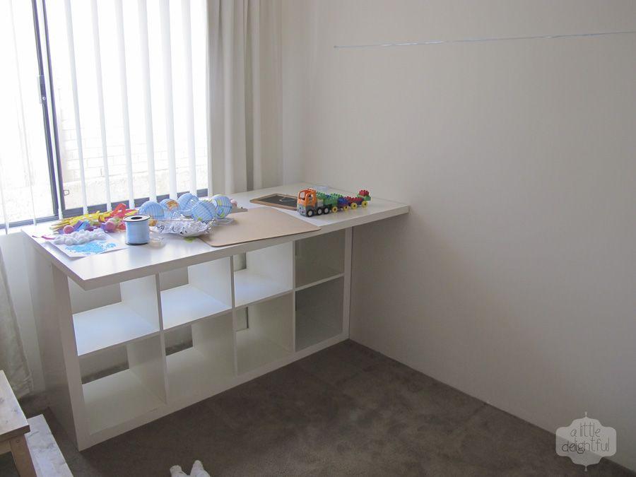 Expedit Desk DIY : Expedit Desk Workstation - New Interior ...