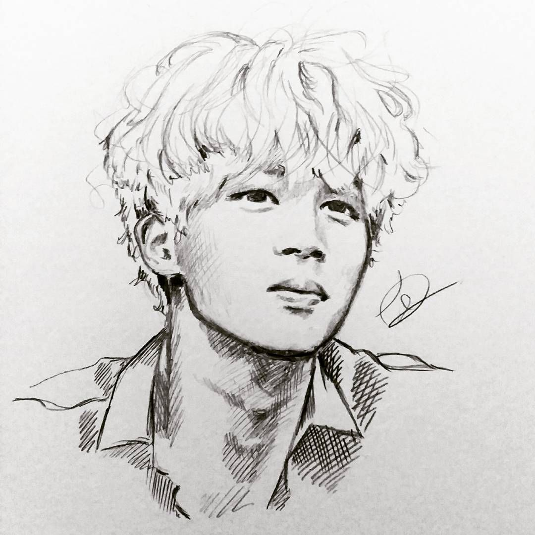 Jimin #BTS - Wow This Is Amazing - Credits To Owner | Sketchinu0026#39; | Pinterest | Jimin BTS And Fanart