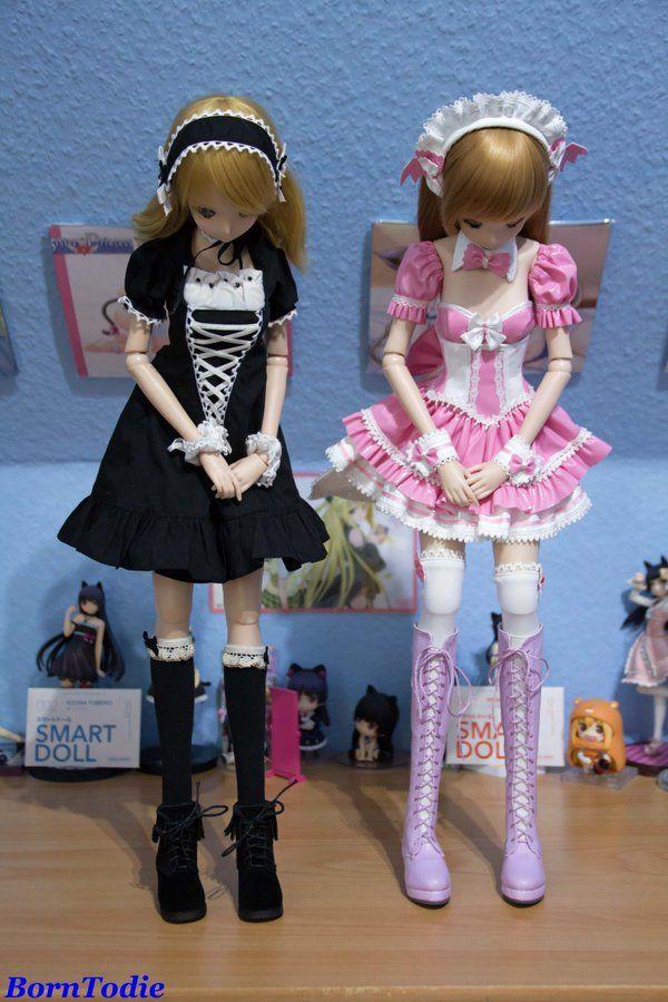 Smart Doll Kizuna Yumeno and Mirai Suenaga by borntodie_87