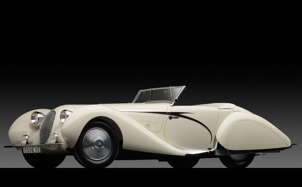 Talbot Lago T150 C Ss Teardrop Cabriolet By Figoni Et Falaschi De 1938 Por