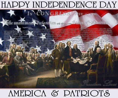 Image result for photos of the 4th of July and the patriots