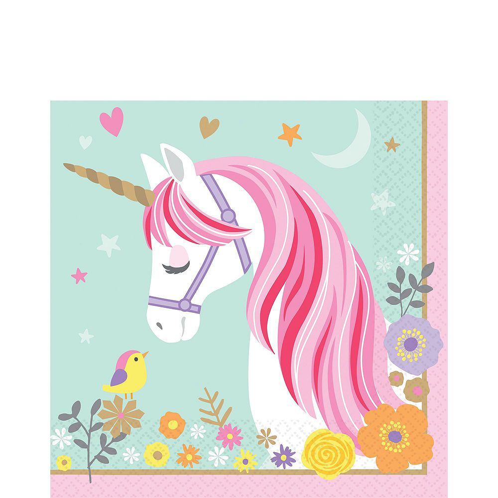 Magical Unicorn Tableware Party Kit For 24 Guests Image 5