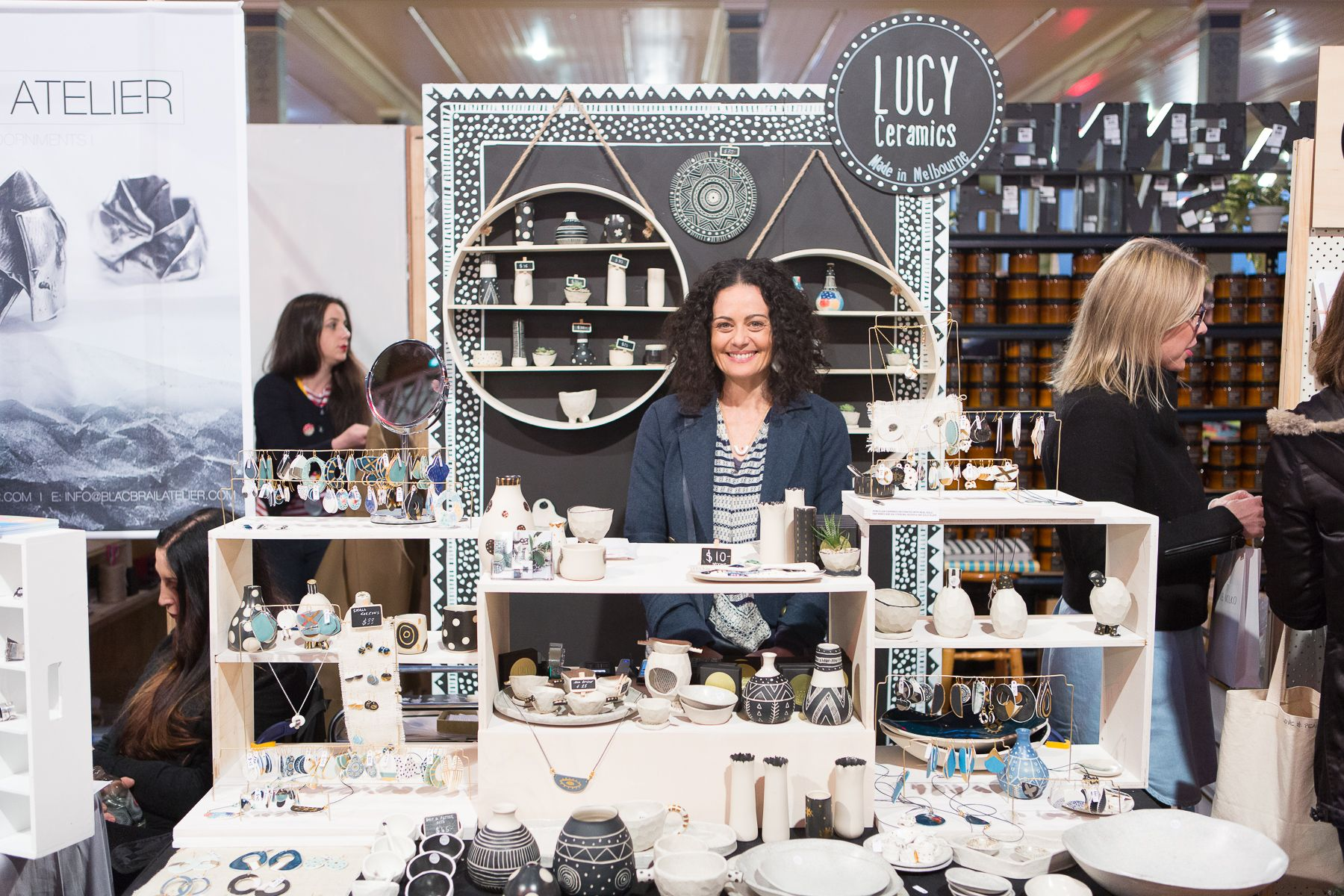 Features Lucy Ceramics Captured Mark Lobo Melbourne Aw16 Market. Debut