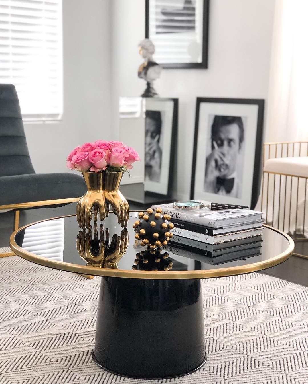 21 Gorgeous Glam Coffee Tables Glam Coffee Table Home Interiors And Gifts Coffee Table [ 1349 x 1080 Pixel ]